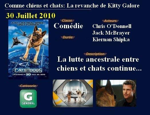 Comme chiens et chats: La revanche de Kitty Galore